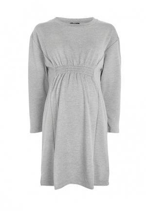 Платье Topshop Maternity. Цвет: серый