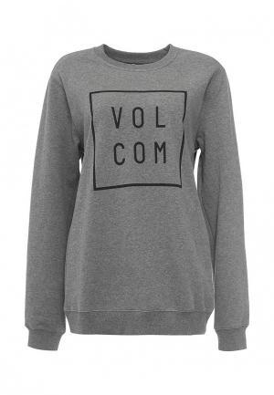 Свитшот Volcom. Цвет: серый