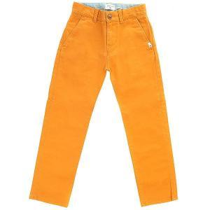 Штаны прямые детские  Krandyawyt Golden Oak Quiksilver. Цвет: оранжевый