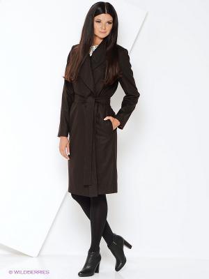 Пальто Katerina Bleska&Tamara Savin. Цвет: коричневый