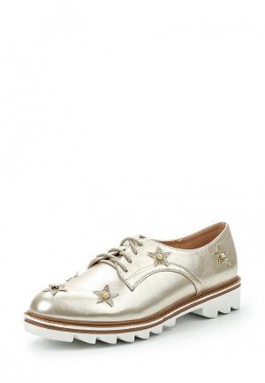 Ботинки Y & L. Цвет: золотой