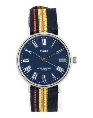 Наручные часы TIMEX. Цвет: темно-синий
