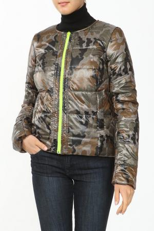 Куртка French Fries. Цвет: зеленый
