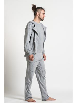 Спортивный костюм SAVASANA. Цвет: серый меланж