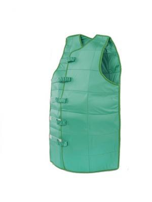 И13301 Жилет для снятия воспалительных процессов, р-р M, регулируемый SilverStep. Цвет: зеленый
