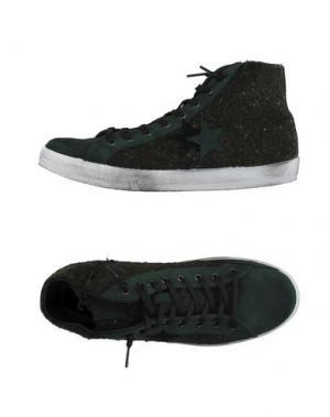 Высокие кеды и кроссовки 2STAR. Цвет: темно-зеленый
