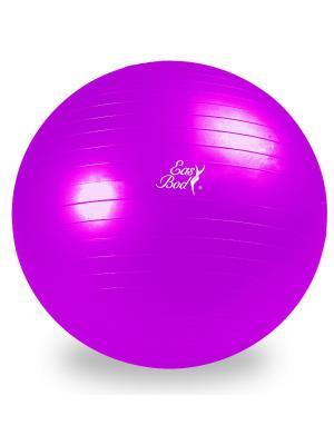 Мяч гимнастический 75 см Easy Body. Цвет: розовый