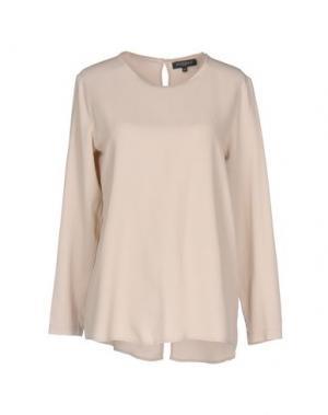 Блузка ANTONELLI. Цвет: бежевый