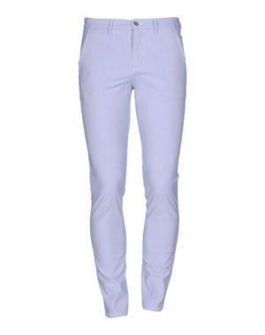 Повседневные брюки GREY DANIELE ALESSANDRINI. Цвет: небесно-голубой
