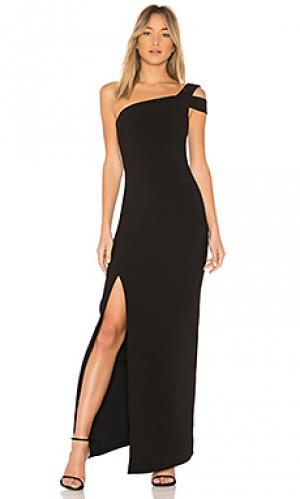 Вечернее платье maxson LIKELY. Цвет: черный