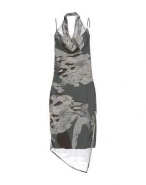 Платье до колена BARONI. Цвет: свинцово-серый