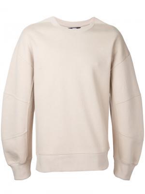 Panelled sleeve sweatshirt General Idea. Цвет: телесный