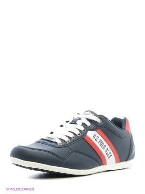 Кроссовки U.S. Polo Assn.. Цвет: темно-синий