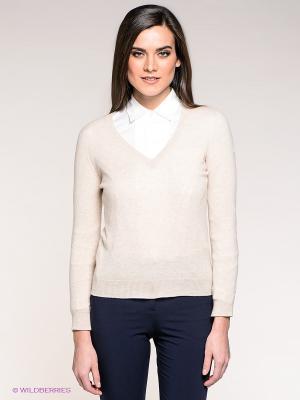 Пуловер Stefanel. Цвет: молочный