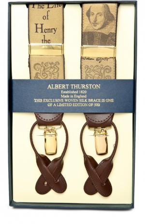 Подтяжки Albert Thurston. Цвет: золотой