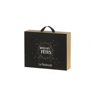 Коробка подарочная LA REDOUTE CREATION. Цвет: черный/ золотистый