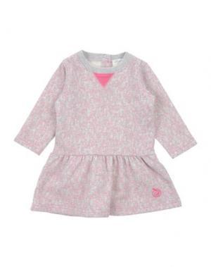 Платье BONNIE BABY. Цвет: светло-серый