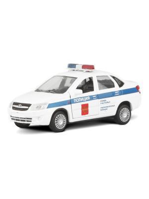 Машина LADA GRANTA полиция AUTOTIME. Цвет: белый