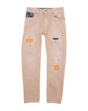 Джинсовые брюки SCOTCH & SHRUNK. Цвет: бежевый