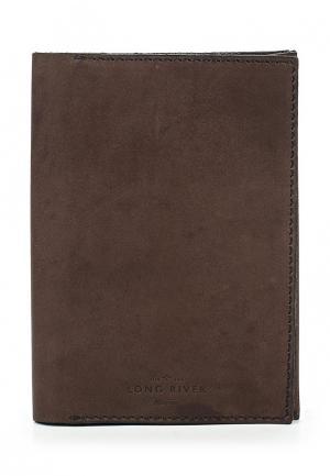 Обложка для документов Long River. Цвет: коричневый