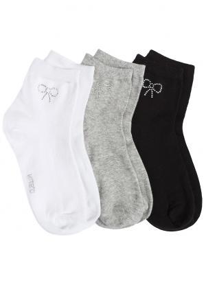 Комплект из 3 базовых носков OSTIN