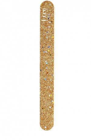 Пилка для ногтей Золотые звезды Kure Bazaar. Цвет: бесцветный