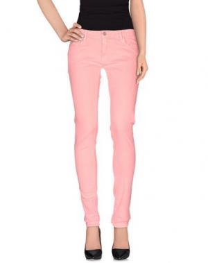 Повседневные брюки LE TEMPS DES CERISES. Цвет: фуксия