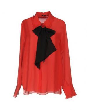 Pубашка HANITA. Цвет: красный