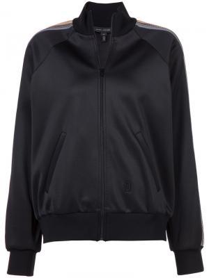 Stripe detail track jacket Marc Jacobs. Цвет: чёрный