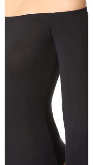 Minimalista Off Shoulder Thong Bodysuit Cosabella