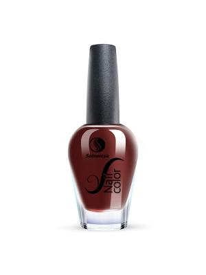 Лак для ногтей Тон FE03 Ливерпуль SOLOMEYA. Цвет: бордовый