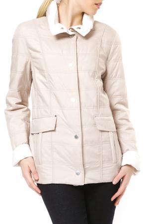 Reversible jacket Baronia. Цвет: beige and white