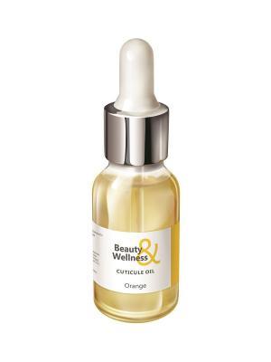 Масло для ногтей и кутикулы, аромат: Сочный апельсин, 15мл RuNail Professional 2128. Цвет: белый