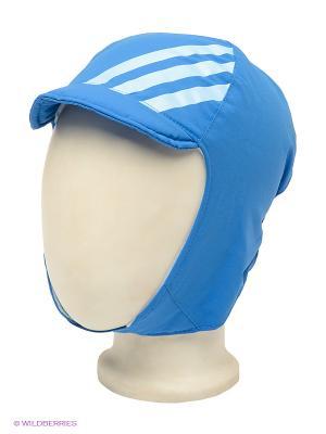 Шапка INFANTS USHANKA Adidas. Цвет: синий