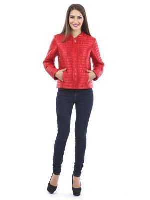 Куртка Lanicka. Цвет: красный