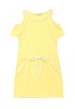 Платье Incity. Цвет: желтый