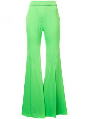 Широкие укороченные брюки Ellery. Цвет: зелёный