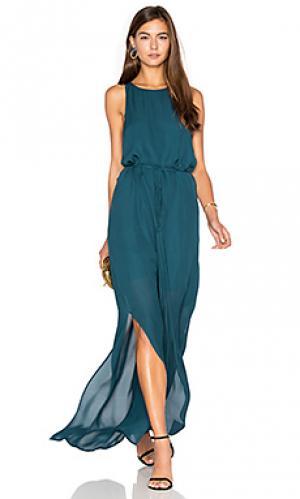 Вечернее платье jackson hole Rory Beca. Цвет: сине-зеленый