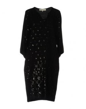 Платье до колена GERARD DAREL. Цвет: черный