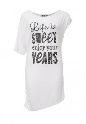Туника Sweet Years. Цвет: белый