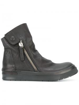 Ботинки на молнии Cinzia Araia. Цвет: чёрный