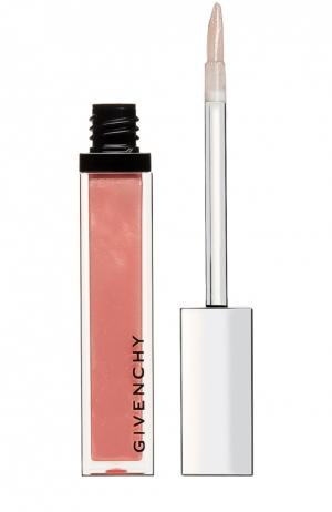 Блеск для губ Gelee DInterdit, оттенок 12 Изысканный телесный Givenchy. Цвет: бесцветный