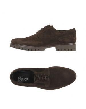 Обувь на шнурках BAGE. Цвет: темно-коричневый
