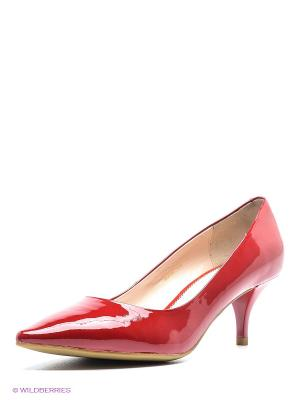 Туфли Moda Donna. Цвет: красный
