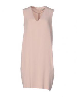 Короткое платье ANTONELLI. Цвет: розовый
