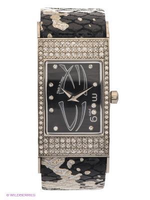 Часы MOOG. Цвет: черный, серебристый
