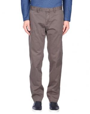 Повседневные брюки ERIC HATTON. Цвет: хаки