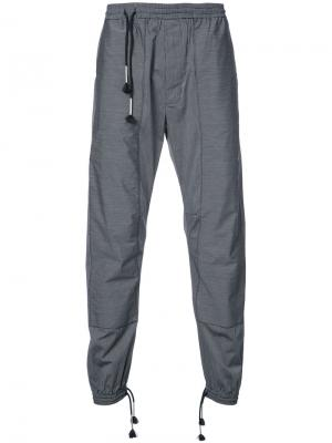 Полосатые брюки Siki Im. Цвет: чёрный