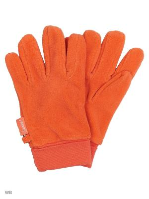 Перчатки Sterntaler. Цвет: оранжевый