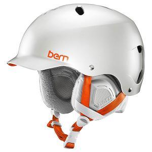 Шлем для сноуборда женский  Snow EPS Lenox Satin Delphin Grey/Grey Liner Bern. Цвет: серый